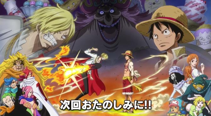 One Piece – 783 (Saga de los Yonkou – Arco Isla Whole Cake)