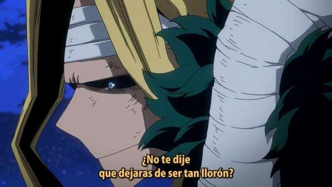 Boku no hero academia , temporada 3 – 12 (50)