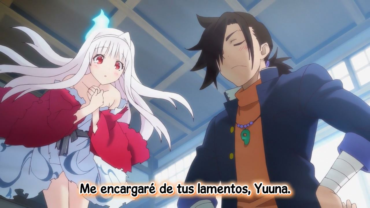 Yuragi-sou no Yuuna-san  – 01