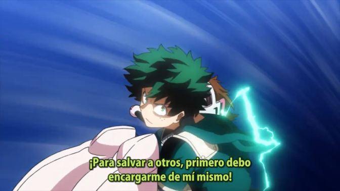 BOKU NO HERO ACADEMIA, tercera temporada –  16 (54)
