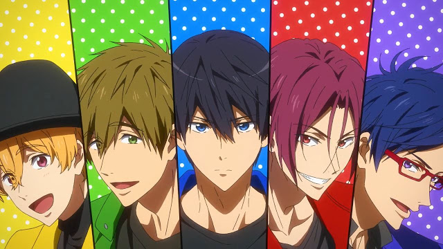 Free!: Dive to the Future – 01