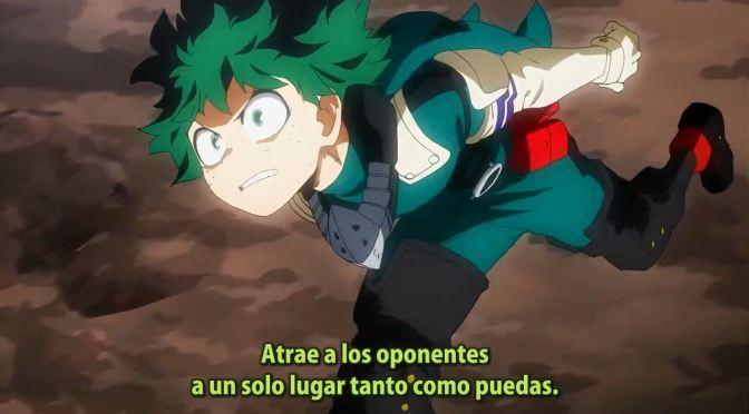 BOKU NO HERO ACADEMIA, tercera temporada – 17 (55)