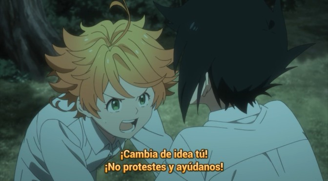 Yakusoku no Neverland – 02