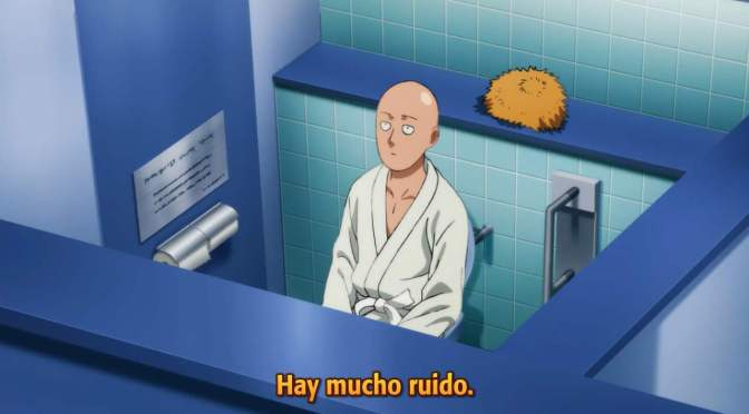 One Punch Man (temporada 2) – no hay episodio esta semana