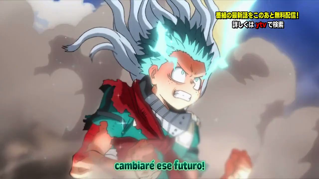 Boku no Hero Academia TEMPORADA 4 – 13 (Final Arco Shie Hassaikai)