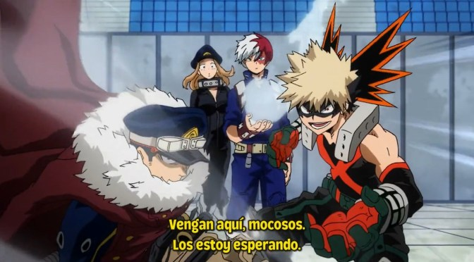 Boku no Hero Academia TEMPORADA 4 – 16