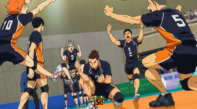 Haikyuu! To the Top TEMPORADA 4 – 11 (TORNEO NACIONAL: RONDA 1)