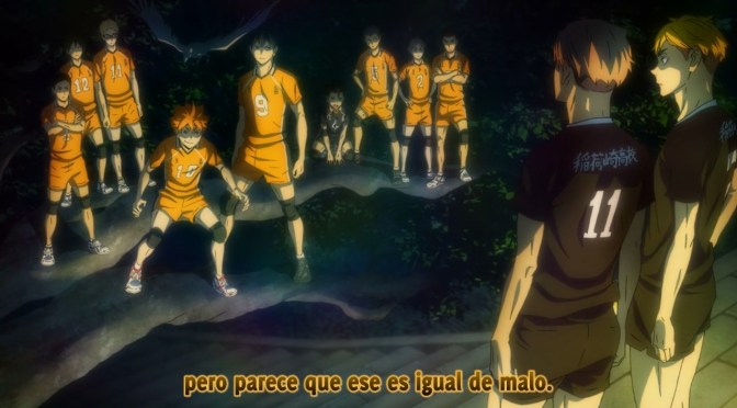 Haikyuu! To the Top TEMPORADA 4 – 13 (Torneo nacional:ronda 2)