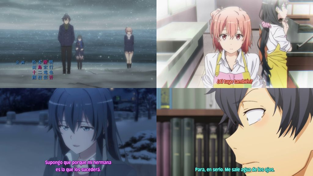 01 – Yahari Ore no Seishun Love Comedy wa Machigatteiru. Kan (TEMPORADA 3)