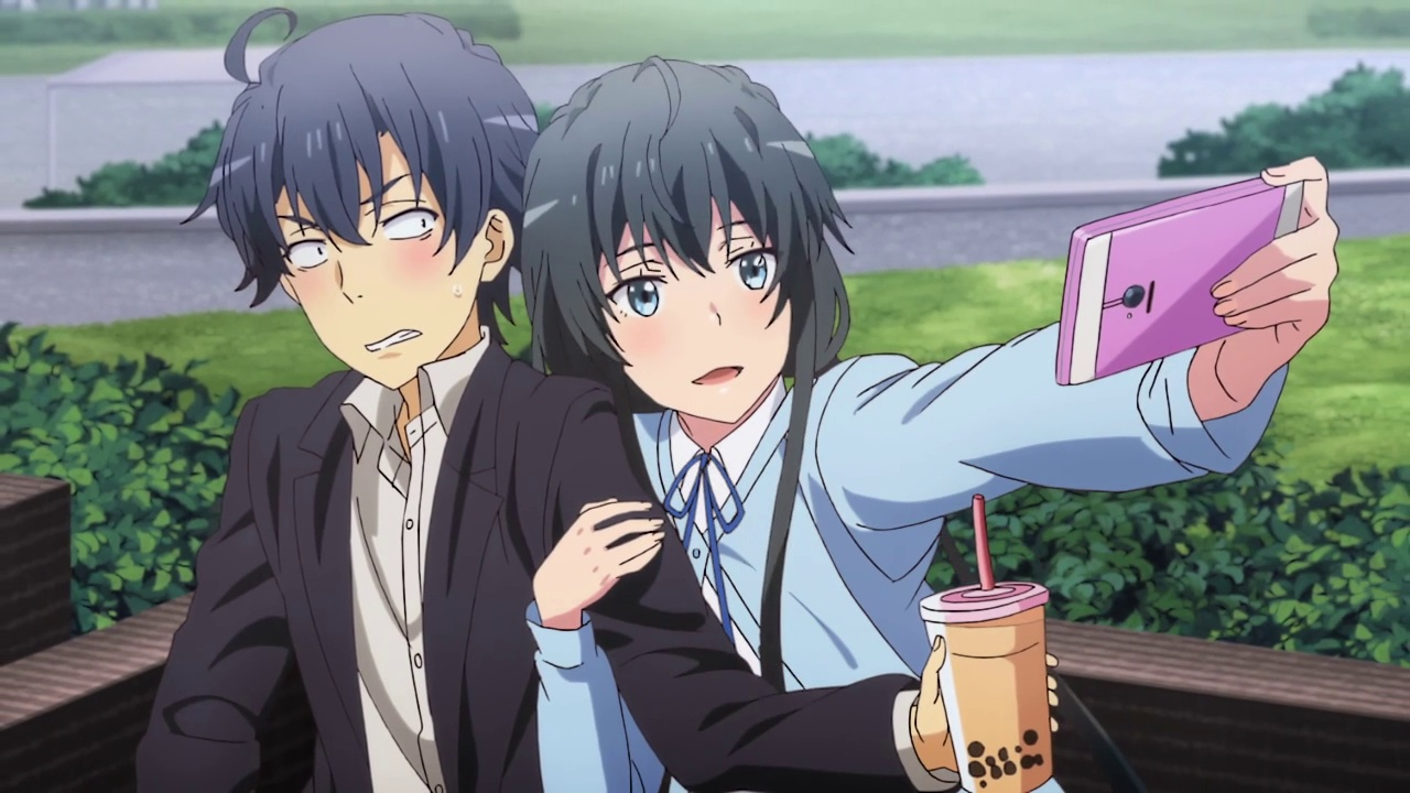 12 final- Yahari Ore no Seishun Love Comedy wa Machigatteiru. Kan