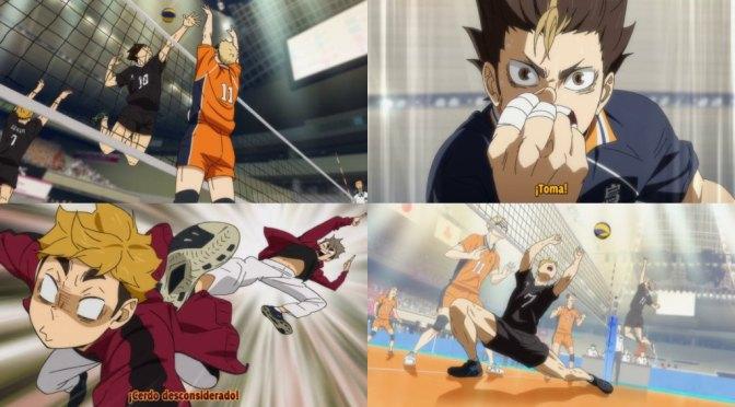 Haikyuu! To the Top: TEMPORADA 4( karasuno vs Inarizaki) – 21